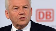 Bahnchef Rüdiger Grube: Wenige Ausreden