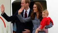 Die Royals nehmen Abschied von Australien