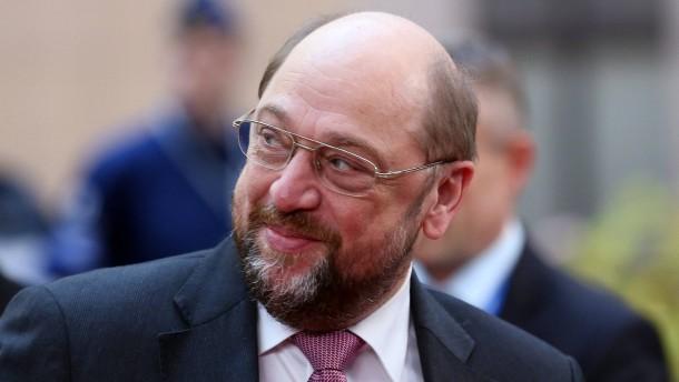 Martin Schulz rebelliert gegen die Pleitebanken-Beschlüsse