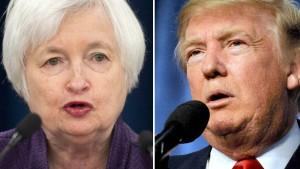 Trump hat keinen Schimmer von Geldpolitik