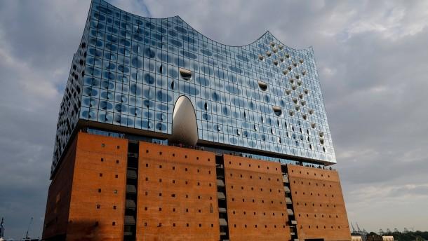 Schimmel in der Elbphilharmonie