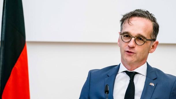 Maas will schnelle Einigung über Wiederaufbaufonds