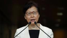 Carrie Lam zieht umstrittenes Auslieferungsgesetz zurück