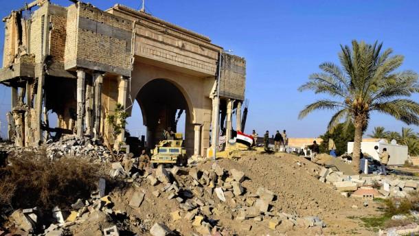 Irakische Armee beginnt Offensive auf Ramadi