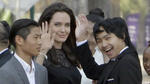 Angelina Jolie hatte Lähmungserscheinungen