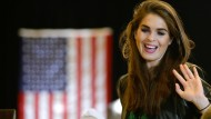 Hope Hicks wird Trumps Interims-Kommunikationschefin