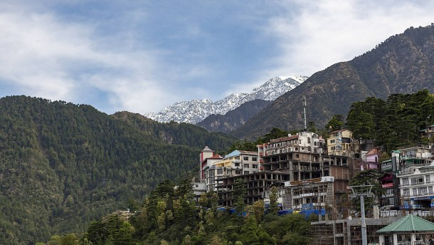 Endlich sieht man den Himalaja