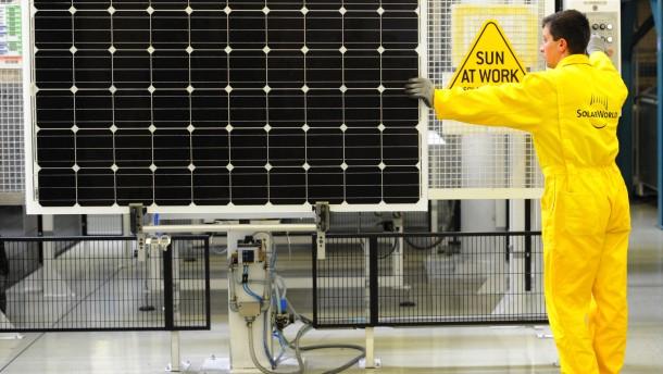 Frostige Zeiten für Solaraktien