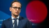 Maas: Frist zur Bekämpfung von Hassbotschaften im Netz