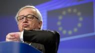 Will in die Verlängerung gehen: EU-Kommissionspräsident Jean-Claude Juncker.