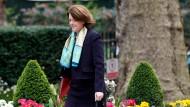 Maria Miller ist Großbritanniens Ministerin für Kultur, Medien und Sport. Jetzt stellte die das Gedenkprogramm zum Ersten Weltkrieg vor.