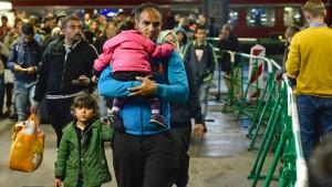 München fürchtet den Flüchtlingskollaps