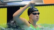 Sarah Köhler schwamm die 800 Meter Freistil in persönlicher Bestzeit.