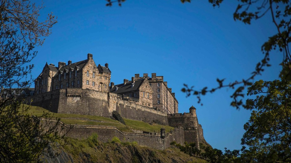 Auf Harry Potters Spuren im Edinburgh Castle