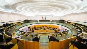FDP und Linke attackieren CDU und Grüne zur Regierungshalbzeit