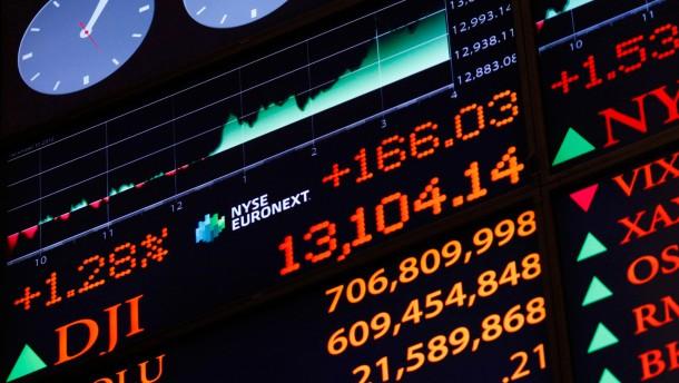 Wall Street hofft auf ein fünftes Jahr der Hausse