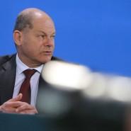 Mit dem Rasierer ausgerutscht: Finanzminister Olaf Scholz