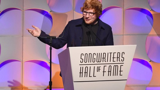 Songwriters Hall of Fame ehrt Ed Sheeran