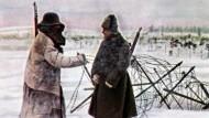 Der Russe im Winter
