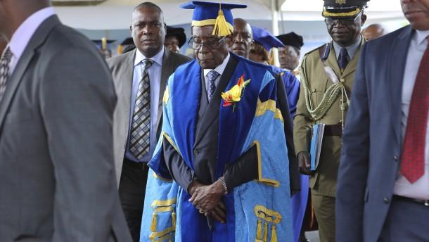 Zimbabwer froh über Mugabe-Aus