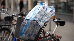 Deutsche kaufen 90 Prozent mehr Toilettenpapier