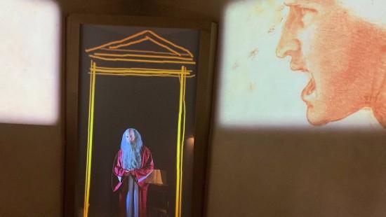 Vinci feiert seinen Leonardo
