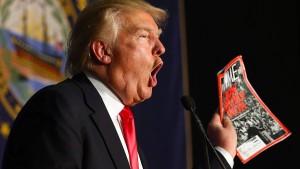 """Trump klagt über """"unfaire Berichterstattung"""""""