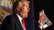 Trump klagt über unfaire Berichterstattung