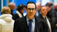 Früherer Goldman-Sachs-Banker soll Trumps Finanzminister werden
