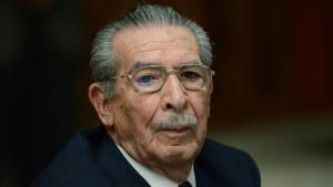 Guatemalas Ex-Diktator Ríos Montt gestorben