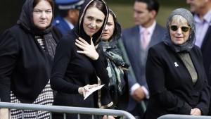 Neuseeland gedenkt Opfern von Christchurch