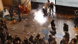 Demonstranten aus Gewahrsam entlassen
