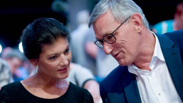 Riexinger kritisiert Buch von Wagenknecht