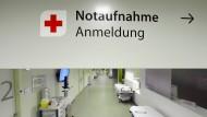 Schnelle Hilfe: Wenn der Rettungsdienst Patienten in die Notaufnahme bringt, ist Eile geboten.