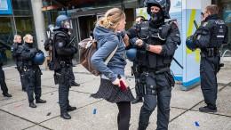 Freie Aussprache unter Polizeischutz