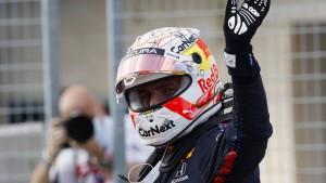 Verstappen schnappt Hamilton die Pole Position weg