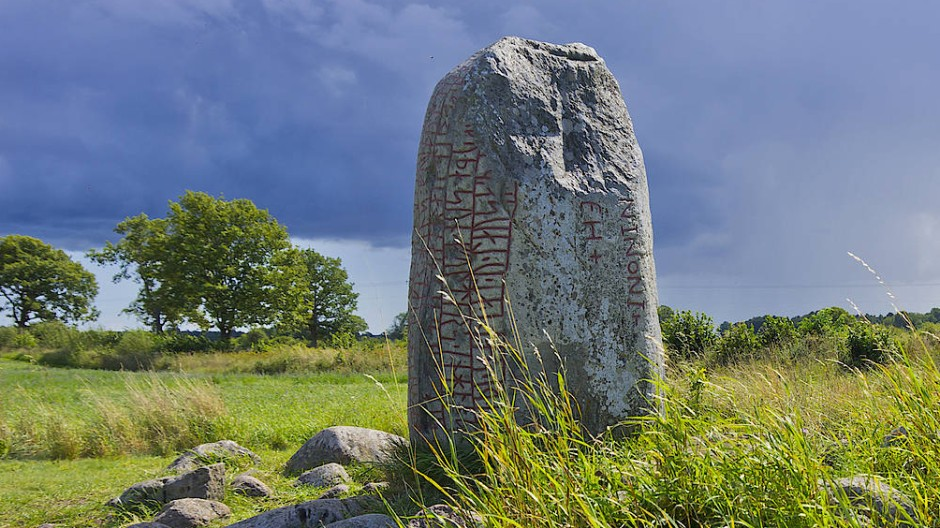 Runenstein im schwedischen Karlevi