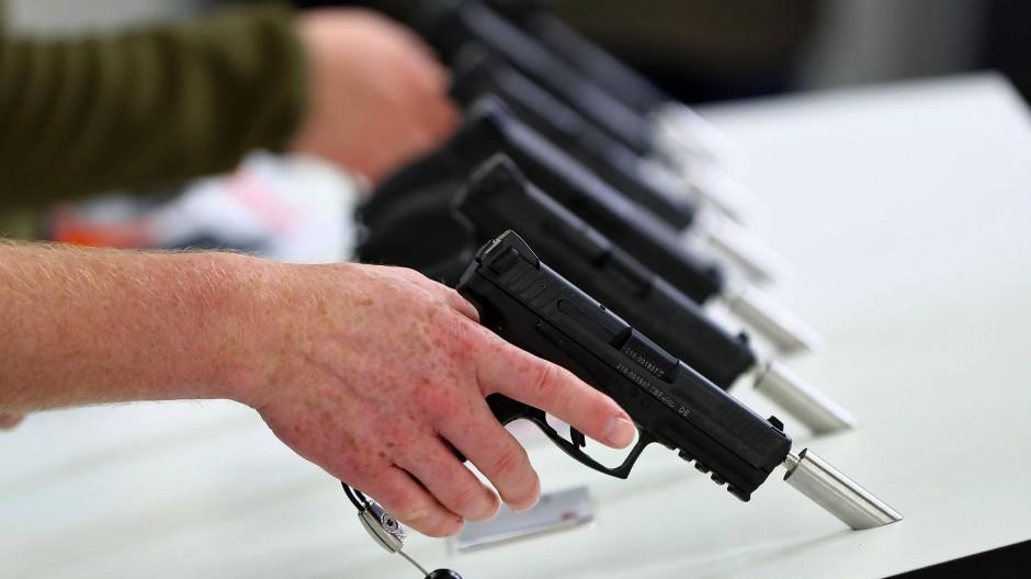 Handfeuerwaffen (Symbolbild)