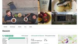 Gartenlaube wird auf TripAdvisor zum besten Restaurant von London