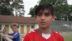 Wie der Fußball Flüchtlingskinder auffängt