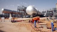 Größter Fisch im Teich: Förderstätte von Aramco in Saudi-Arabien