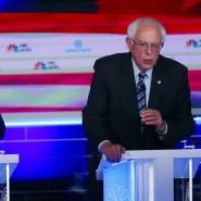 Im Rennen sind noch der ehemalige Vize-Präsident Joe Biden (links) und der Senator Bernie Sanders.