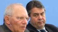 Schäuble hat Reformplan ohne Gabriel ausgeheckt