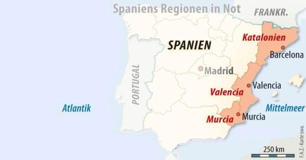 Spanien Katalonien Karte.Bilderstrecke Zu Spanien Katalonien Will 5 Milliarden Euro