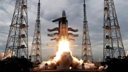 Indien fliegt zum Mond