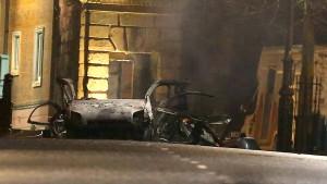 Vier Festnahmen nach Autobombenanschlag in Nordirland