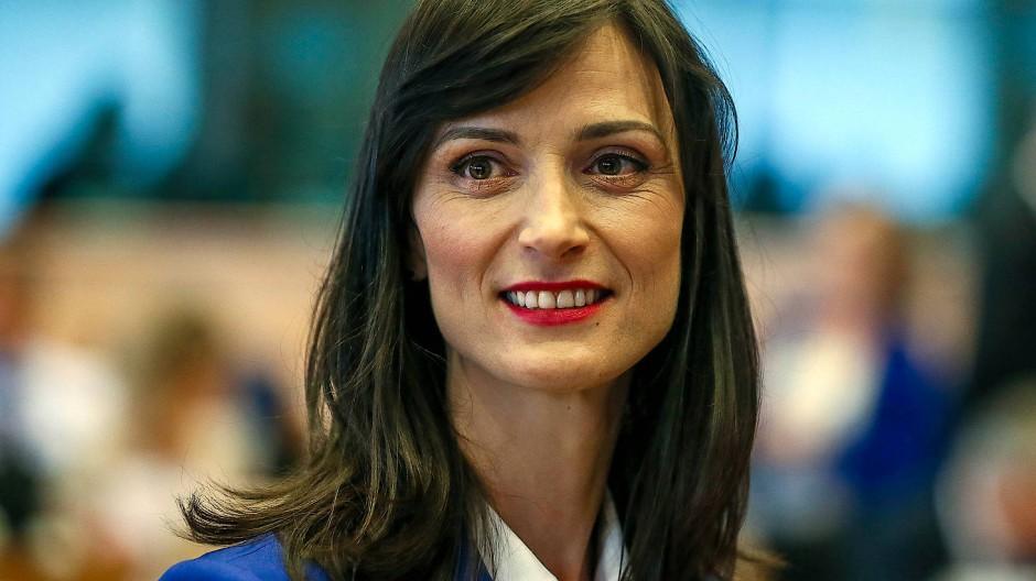 Die neue Kommissarin für Jugend und Innovation, Mariya Gabriel