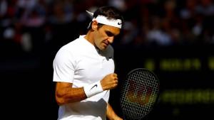 Federer ist einfach nicht zu stoppen