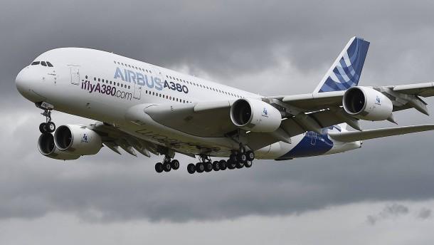 Zu viel Staatsknete für Airbus!