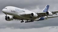 Kostet die Steuerzahl viel Geld: A380 von Airbus